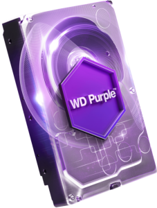 WD PURPLE 3TB SATA3, 6Gb/s, 5400, 64MB