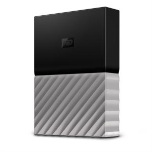 WD Passport Ultra 4TB črn/siv USB 3.0