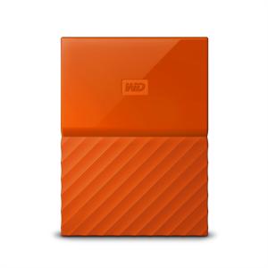 WD My Passport 2TB USB 3.0, oranžen