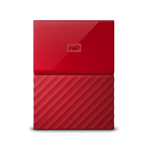 WD My Passport 2TB USB 3.0, rdeč