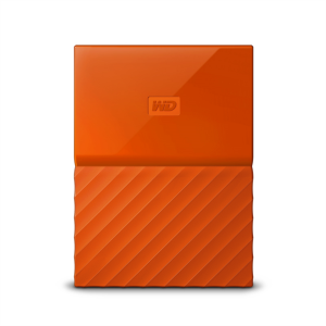 WD My Passport 4TB USB 3.0, oranžen