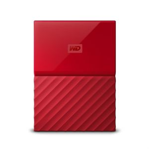 WD My Passport 1TB USB 3.0, rdeč