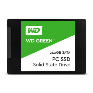 """WD 240GB SSD GREEN 3D NAND 6,35(2,5"""") SATA3"""