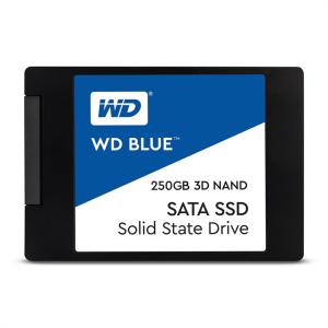 """WD 250GB SSD BLUE 3D NAND 6,35(2,5"""") SATA3"""