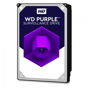 WD PURPLE 6TB SATA3, 6Gb/s, 5400, 64MB