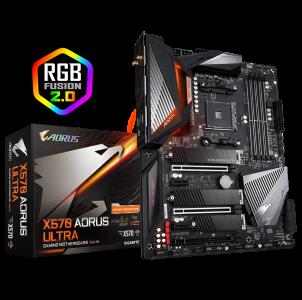 GIGABYTE X570 AORUS ULTRA, DDR4, SATA3, USB3.2Gen2, AM4 ATX