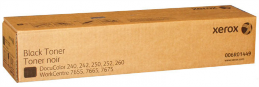 Xerox Črn Toner DC 250/40 in WC 7655/7665/7675, 2 x 30.000 kopij