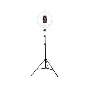 VIDLOK Komplet LED Ring svetlobni obroč s stojalom 30 cm