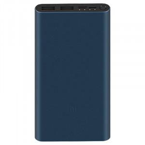 Xiaomi Mi Power Bank 3 10000 mAh 18W QC 3.0 prenosna baterija modro/črna