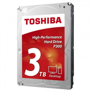 "Toshiba trdi disk 3,5"" 3TB 7200 64MB P300 SATA 3"