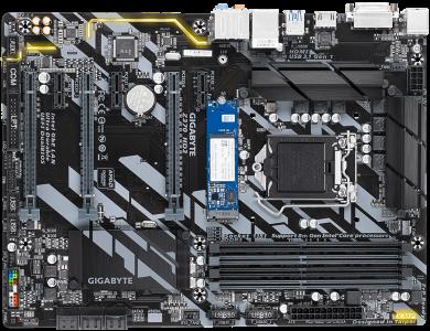 GIGABYTE Z370 HD3-OP, vključen Optane 32GB, DDR4, SATA3, USB3.1Gen1, HDMI, LGA1151 ATX