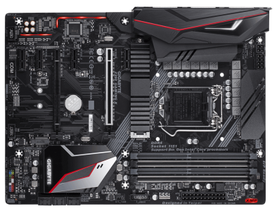 GIGABYTE Z390 GAMING X, DDR4, SATA3, USB3.1Gen2, HDMI, LGA1151 ATX