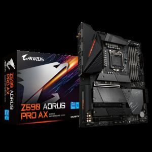 GIGABYTE Z590 AORUS PRO AX , DDR4, SATA3, USB3.2Gen2x2, DP, Wi-Fi, LGA1200 ATX + igra OUTRIDERS
