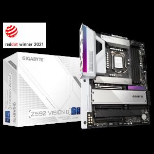 GIGABYTE Z590 VISION G, DDR4, SATA3, USB3.2Gen2x2, DP, LGA1200 ATX + igra OUTRIDERS
