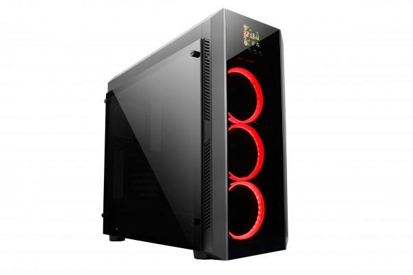 Chieftec GL-01B-OP USB3 ATX TEMPERED GLASS ohišje, črno