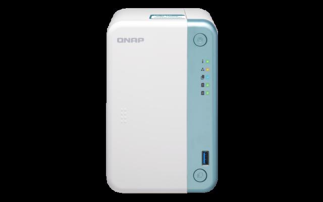 QNAP NAS TS-251D-4G ZA 2× HDD