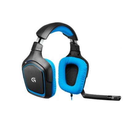 Logitech Slušalke gaming G430 USB 7.1 prostorski zvok