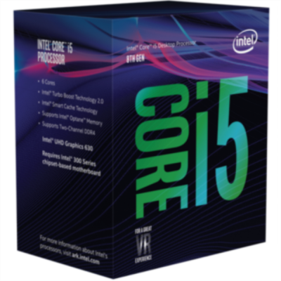 Intel Core i5 8500 BOX procesor, Coffee Lake