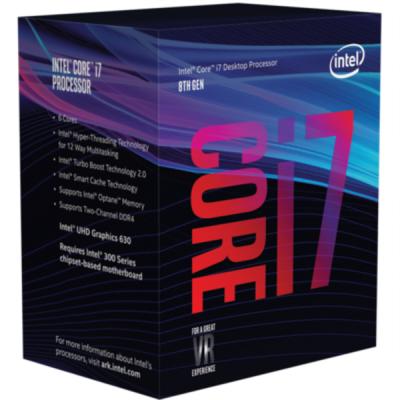 Intel Core i7 8700K BOX procesor, Coffee Lake