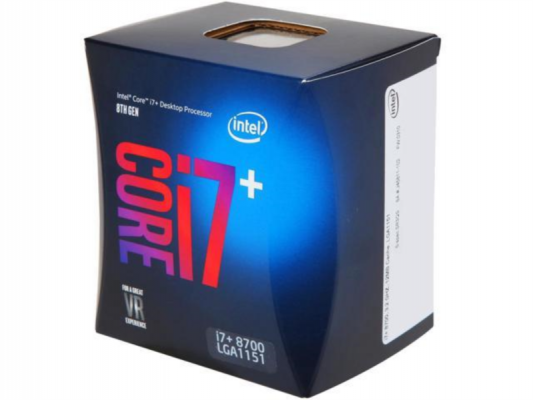 Intel Core i7+ 8700 BOX procesor, Coffee Lake
