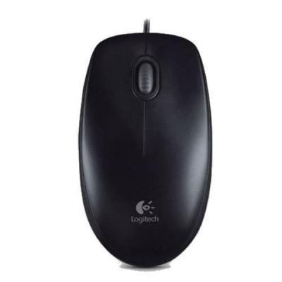 Logitech B100 optična miška, USB