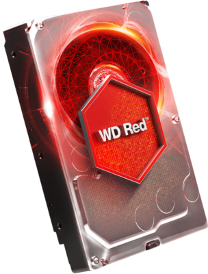 WD trdi disk 4TB SATA3, 6Gb/s, Intellipower, 64MB RED