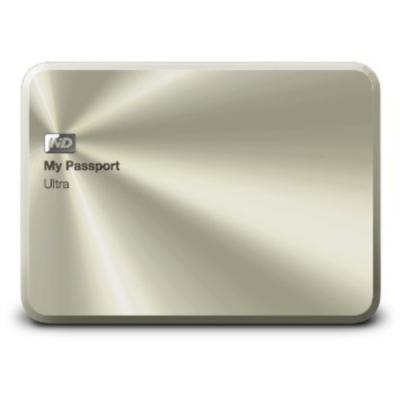 """WD My Passport Ultra Metal 2TB USB 3.0 2,5"""" zlat"""
