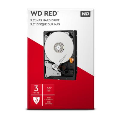 WD trdi disk 3TB SATA3, 6Gb/s, Intellipower, 64MB RED, kit