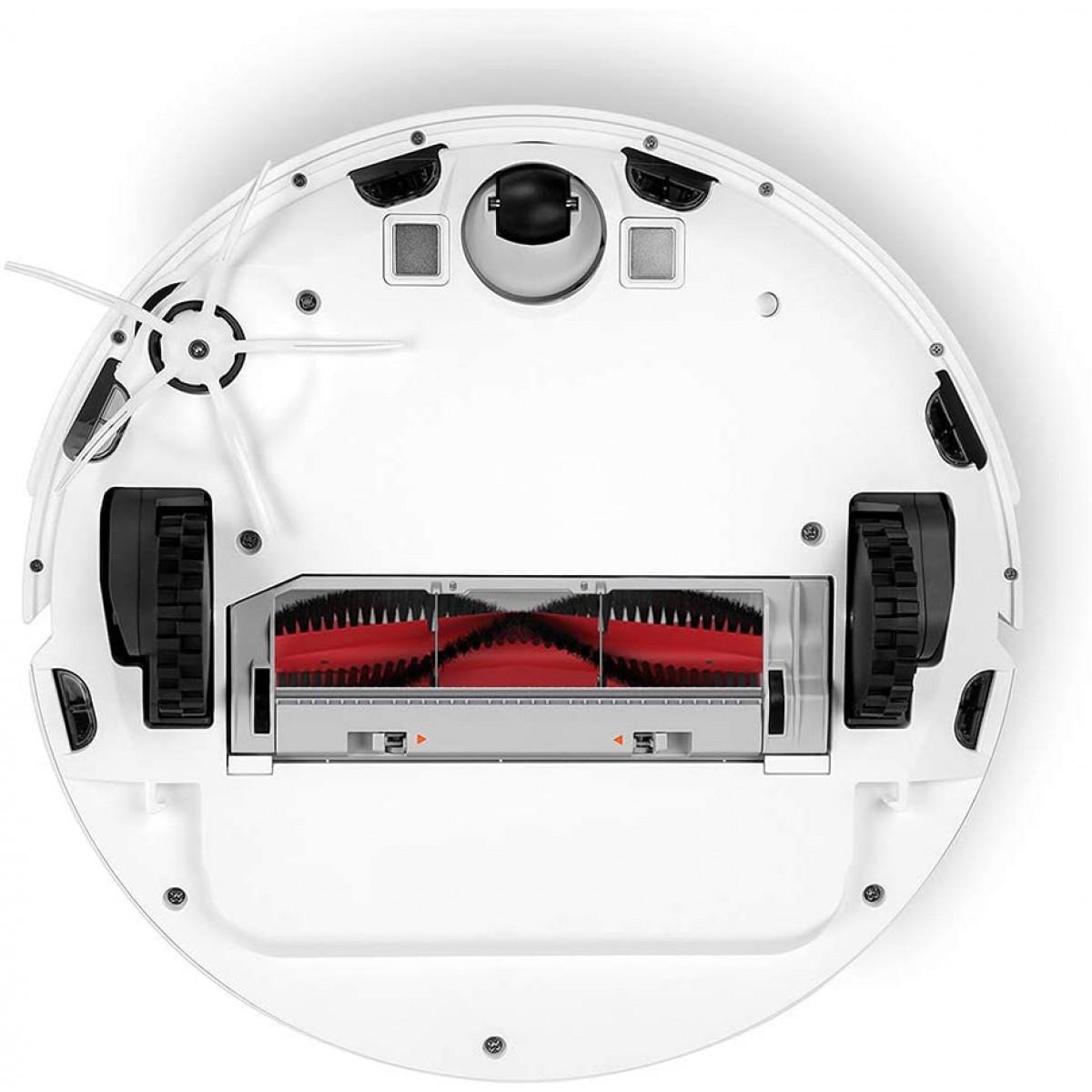 Roborock stranka krtača za S6 MaxV, S6, S6 Pure, E4, S5 Max 2x bela