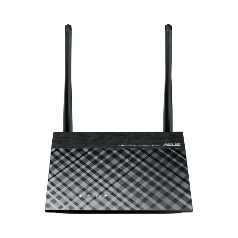 ASUS RT-N11P brezžični usmerjevalnik, 802.11g/b/n, 300Mbps