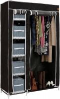 VonHaus portable textile wardrobe, black