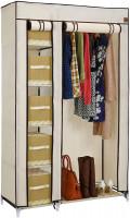 VonHaus portable textile wardrobe, beige