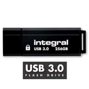 INTEGRAL TITAN 256GB USB3.0 črn spominski ključek