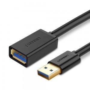 Ugreen  USB 3.0 podaljšek (M na Ž) črn 2m