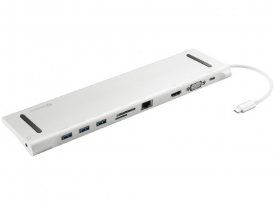 Sandberg USB-C 10 in 1 Docking Station for Laptops