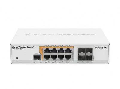 Mikrotik stikalo Cloud Router Switch CRS112-8P-4S-IN