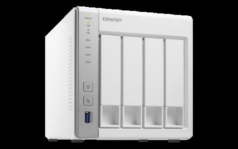 QNAP TS-431P2-4G NAS server for 4 disks