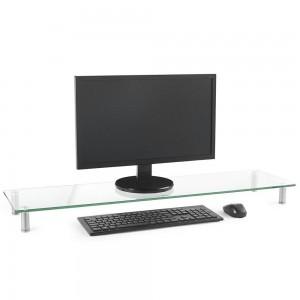 VonHaus XL steklen podstavek za monitor