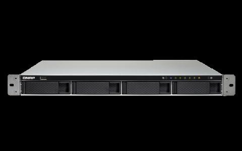 QNAP TS-463XU-4G 1U 4-Bay AMD 64bit x86-based NAS server