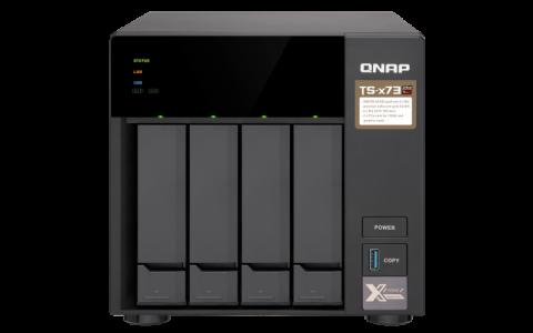 QNAP TS-473 NAS server for 4 disks