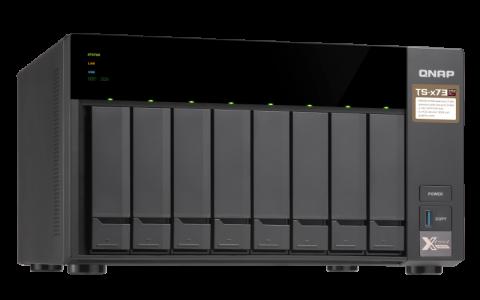 QNAP TTS-873 NAS server for 8 disks
