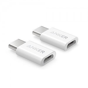 Anker USB-C to Micro USB adapter bel 2 kos