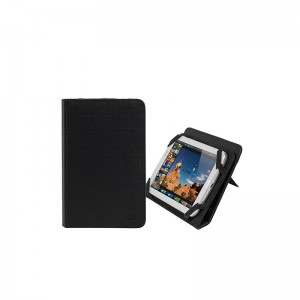 RivaCase stand with cover for 7 '' black plate