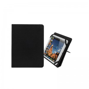 RivaCase stand with cover for 10 '' black plate