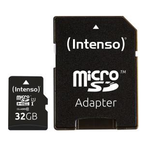 Intenso 32GB microSDXC UHS-I Class 10Premium spominska kartica