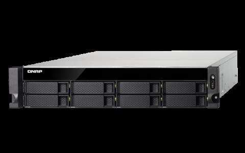 QNAP TS-832XU-RP-4G-US 2U 8-Bay ARM-Based 10G NAS server