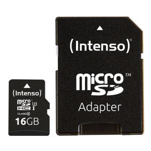 Intenso 16GB microSDXC UHS-I Class 10 Pro spominska kartica