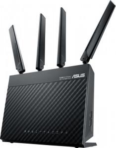 ASUS 4G-AC68U AC1900 wireless router, 802.11a / g / b / n / ac 1900Mbps, 3G / 4G LTE 300Mbps