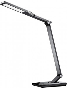TaoTronics touch control Iron Gray LED table lamp TT-DL063