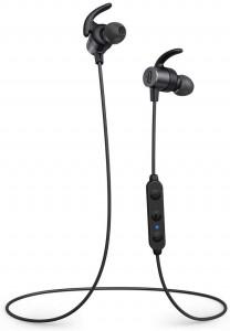 TaoTronics SoundElite 72 Portable Buetooth 5.0 Sports Headphones CvC 8.0 aptX TT-BH072 Black